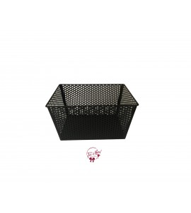 Basket: Black Metal Basket (Medium)