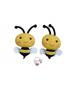Bees: Medium Stuffed Bees Set of 4
