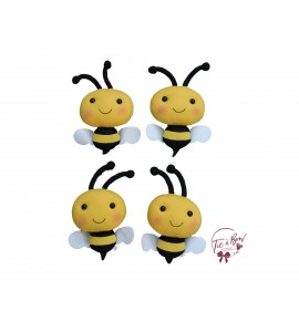 Bees: Small Stuffed Bees Set of 4