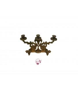 Candelabra: Vintage Brass Candelabra