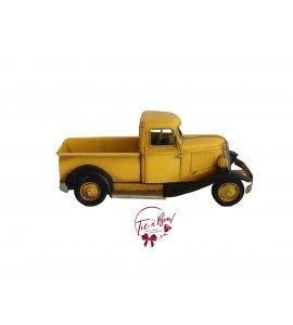 Car: Vintage Yellow Car