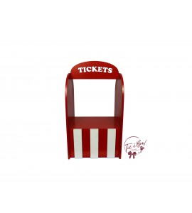 Circus: Red and White Tickets Stand