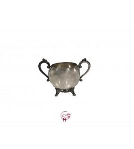 Bowl: Silver Sugar Bowl (Medium)