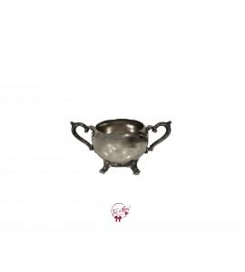 Bowl: Silver Sugar Bowl (Small)