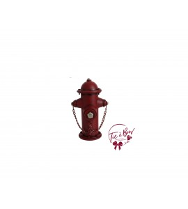 Fire Hydrant: Vintage Red Fire Hydrant