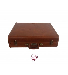 Luggage: Brown Leather Luggage