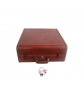 Luggage: Red Wine Leather Luggage