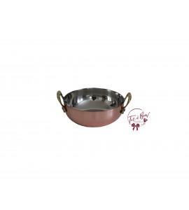 Mini Copper Pot With Handles