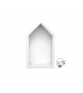 Niche House: Large White With White Background