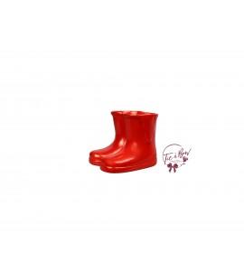 Rain Boots: Mini Red