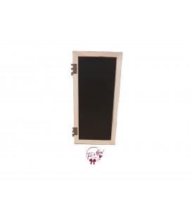 Chalkboard: Rustic Window Chalkboard