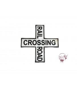 Sign: Rail Crossing