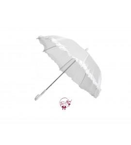 Small White Umbrella