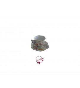 Tea Cup: Pastel Colors Mini Butterfly Tea Cup