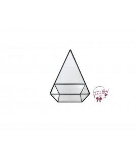 Terrarium: 8.25 Inches Tall Black Pyramid