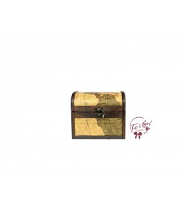 """Trunk: 6"""" Wide With Map Design"""