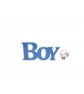 Word Boy in Sky Blue