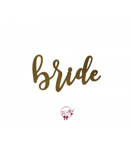 Word: Bride (Golden)