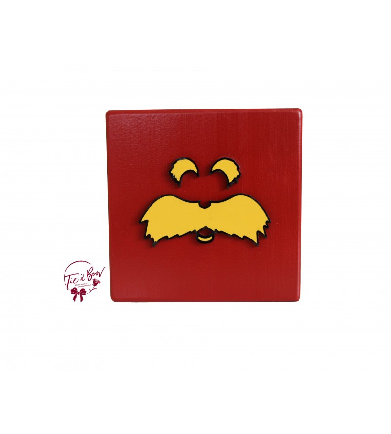 Dr. Seuss Riser: 6 Inches Red Lorax