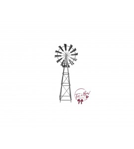 Windmill: Galvanized
