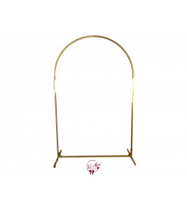 Backdrop: Gold Metal Arch Backdrop (Tall)