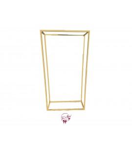 Backdrop: Gold 3D Backdrop Frame