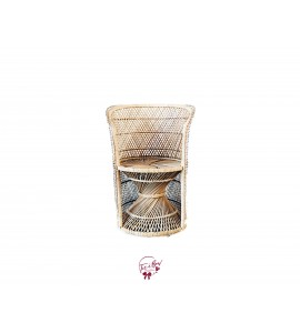 Chair: Rainbow Wicker Chair