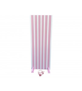 Backdrop: Light Pink With White Trim Backdrop