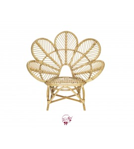 Flower Rattan Chair