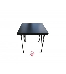Table: Black Modern Table (Medium)