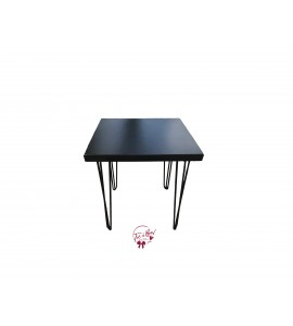 Table: Black Modern Table (Small)