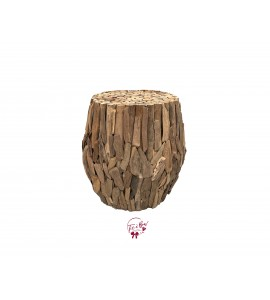 Accent Table: Driftwood Accent Table