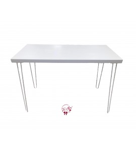 Table: White Modern Table (Large)