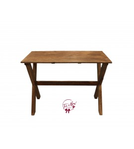 Table: Wooden Trestle Table