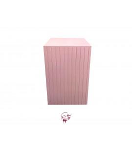 Pedestal: Light Pink Pedestal (Tall)