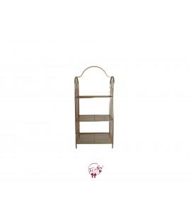 Ladder Shelf: Short Golden Ladder Shelf