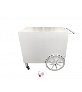 White Modern Cart