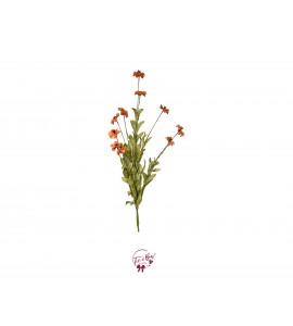 Flower: Peach Velvet Flower Bunch