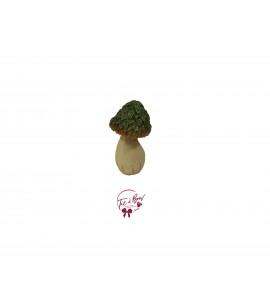 Mushroom: Small Green Glittery Mushroom