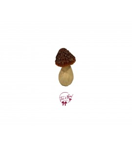 Mushroom: Small Orange Glittery Mushroom