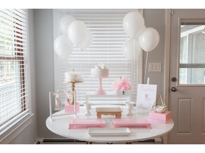 Ballerina Themed Table