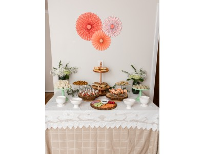Rustic Chic Themed Table