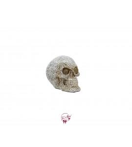 Skull with Beaded Stones