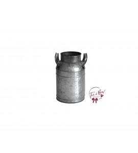 Milk Galvanized Jar