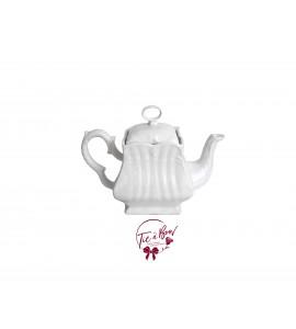 Jar: Square Tea Pot