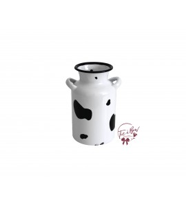 Milk Jar: Cow Printed Milk Jar