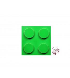Lego Riser: Kelly Green Lego Riser