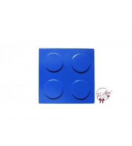 Lego Riser: Royal Blue Lego Riser