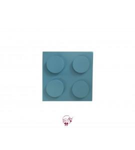 Island Blue Lego Riser