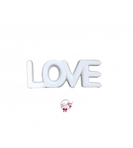 Word Love (Porcelain)